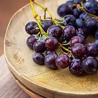 la raisin, petites grumes détox et monodiète